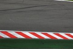 Parte di pista, gara motociclistica su pista immagine stock