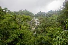 Parte di Pitugro WaterfallPetro Lo Unione Sovietica o della cascata del cuore, il più alta cascata in Tailandia, situata nel sant Immagini Stock