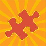 Parte di puzzle del puzzle Fotografie Stock
