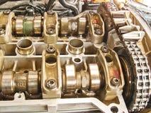 Parte di un motore di automobile Immagine Stock