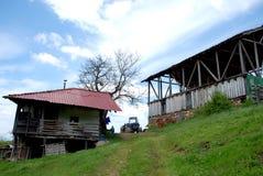 Parte di un paesino di montagna in Macedonia Immagini Stock Libere da Diritti