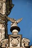 Parte di un tetto della chiesa Immagini Stock Libere da Diritti