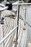 Parte di un yacht Immagini Stock Libere da Diritti