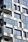 Parte di una costruzione a più piani moderna Architettura alta tecnologia moderna Immagini Stock