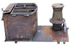 Parte di vecchio motore rurale Immagini Stock