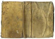Parte dianteira antiga da tampa de livro Imagem de Stock