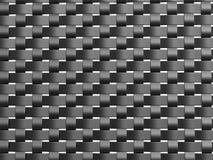 Parte dianteira cinzenta do teste padrão do weave Fotos de Stock Royalty Free
