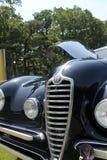 Parte dianteira clássica do carro fotografia de stock royalty free