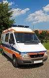 Parte dianteira da ambulância Imagens de Stock