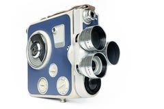 Parte dianteira da câmera de filme do vintage Fotografia de Stock