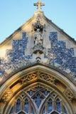 Parte dianteira da igreja Fotografia de Stock Royalty Free