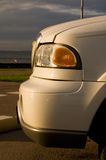 Parte dianteira da limusina imagem de stock royalty free