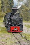 Parte dianteira da locomotiva de vapor velha Fotos de Stock