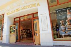 Parte dianteira da loja de Williams-Sonoma Foto de Stock Royalty Free