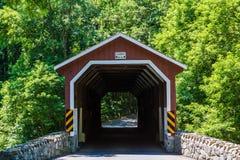 Parte dianteira da ponte coberta Imagens de Stock Royalty Free