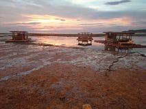 Parte dianteira da praia de Matabungkay Batangas Imagem de Stock Royalty Free