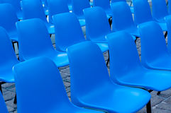 Parte dianteira das cadeiras Fotos de Stock Royalty Free