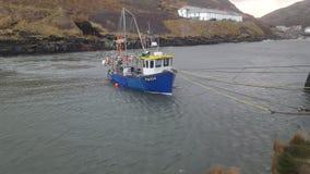 Parte dianteira de mar da vila de Boscastle Imagem de Stock Royalty Free