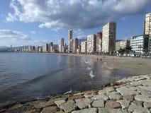 Parte dianteira de mar em Amathus Limassol Fotografia de Stock
