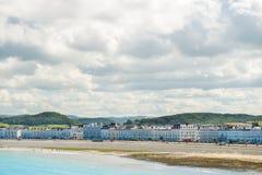 Parte dianteira de mar de Llandudno em Gales norte, Reino Unido Foto de Stock