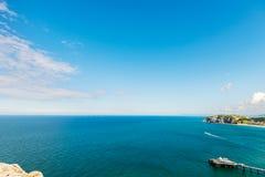 Parte dianteira de mar de Llandudno em Gales norte, Reino Unido Imagem de Stock