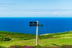 Parte dianteira de mar de Llandudno em Gales norte, Reino Unido Imagens de Stock Royalty Free