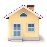 Parte dianteira de Mini House Fotografia de Stock