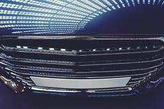 Parte dianteira de um carro Imagem de Stock