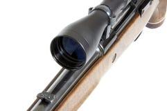 Parte dianteira de um riflescope imagens de stock royalty free