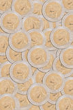 Parte dianteira do baht tailandês da moeda 10 Imagem de Stock Royalty Free