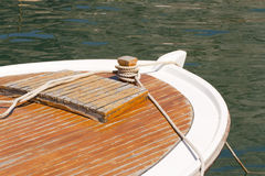 Parte dianteira do barco Foto de Stock