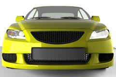 Parte dianteira do carro Imagens de Stock Royalty Free