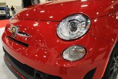 Parte dianteira do carro de Fiat foto de stock royalty free