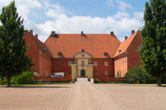 Parte dianteira do castelo de Krapperup Foto de Stock