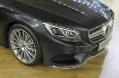 Parte dianteira do cupê da classe de Mercedes-Benz S Fotos de Stock