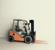 Parte dianteira do Forklift Imagens de Stock Royalty Free