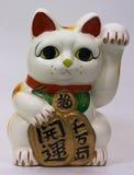 Parte dianteira do gato da sorte Imagens de Stock