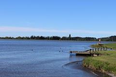 Parte dianteira do lago Foto de Stock