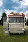 Parte dianteira do ônibus do vintage Fotos de Stock