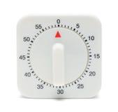 Parte dianteira do temporizador da cozinha Imagens de Stock