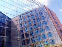 Parte dianteira do vidro Imagem de Stock