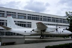 Parte dianteira dos aviões fotografia de stock royalty free