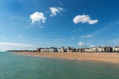 Parte dianteira e praia de mar do negócio imagens de stock royalty free