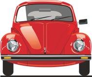 Parte dianteira vermelha do besouro Imagens de Stock