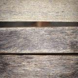 Parte do banco de madeira do grunge Foto de Stock Royalty Free