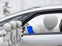 Parte do carro, carsharing Imagens de Stock Royalty Free