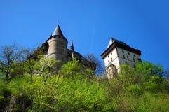Parte do castelo de Karlstejn Imagem de Stock