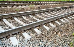 Parte do close-up fotografado railway foto de stock royalty free