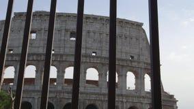 parte do colosseum Roma video estoque