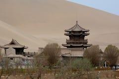 Parte do deserto de Gobi China imagens de stock royalty free